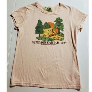 Juicy Couture Vintage Camp Juicy Tee